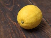 Citroncloseup royaltyfri bild