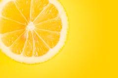 Citrondel Royaltyfri Foto