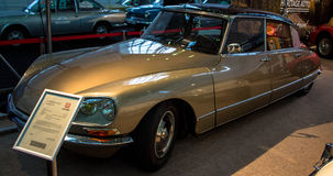 Citrone DS. Expo car citroen DS from Romania royalty free stock photo