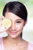 Citronen är stor för hälsa Royaltyfria Bilder