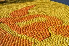Citronen Menton 2011 firar Arkivbild