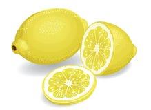 citroner Royaltyfria Bilder