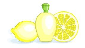 Citroner och citronjuice Royaltyfri Fotografi
