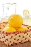 Citroner och lemonade Royaltyfria Foton