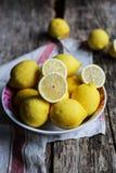 Citroner Primofiore Arkivbild