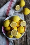 Citroner Primofiore Arkivfoton