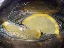 citroner två Fotografering för Bildbyråer
