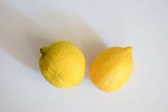 citroner två Royaltyfria Bilder