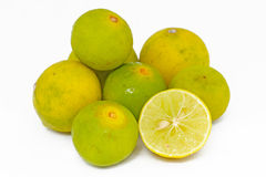Citronfrukt Arkivfoto