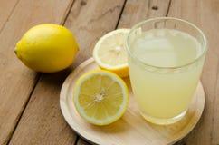 Citronjuice Arkivfoto