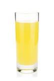 Citronjuiceexponeringsglas arkivbilder