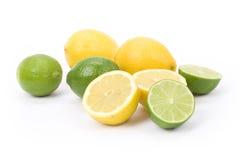citronlimefrukt Royaltyfria Foton