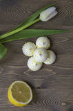 Citronmaräng Royaltyfri Fotografi