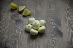Citronmaräng Royaltyfri Bild