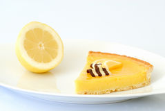 citronpie Arkivbild