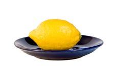 citronplatta Arkivbild