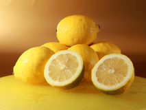 citronplatta Royaltyfria Foton