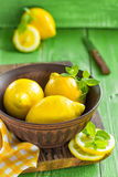 Citrons Photographie stock