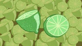 Citrons au-dessus des citrons Photo stock