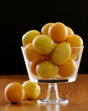 Citrons de ND d'oranges photo stock