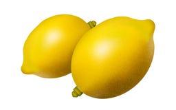 Citrons jaunes Images stock
