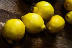 Citrons mûrs frais Photographie stock libre de droits