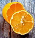 Citrons oranges Images libres de droits
