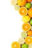 Citrons, oranges et limettes Oranges, chaux et citrons Photos stock
