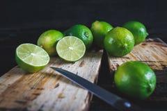 Citrons verts Images libres de droits