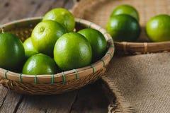 Citrons verts Photographie stock