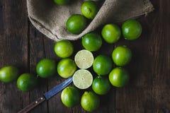 Citrons verts Image libre de droits