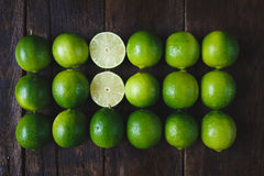 Citrons verts Image stock