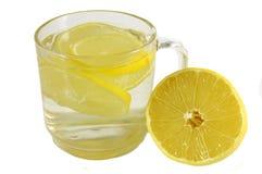 citrontea arkivbilder