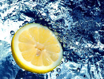 citronvatten Arkivbild