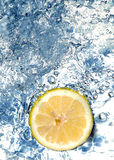 citronvatten Royaltyfri Foto