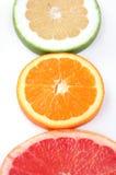 citrus świeżego kawałek 3 Obraz Stock