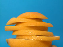 Citrus. In slices Royalty Free Stock Image