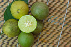 Citrus aurantifolia Immagine Stock Libera da Diritti
