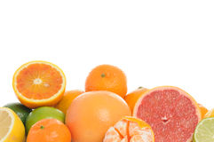 Citrus background Royalty Free Stock Images