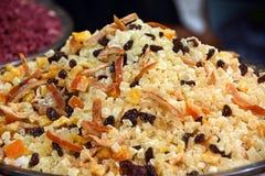 Citrus blandning för örtte, varmt eller kallt royaltyfri foto