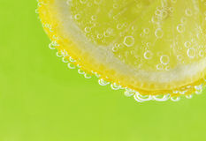 Citrus and Bubbles Royalty Free Stock Image