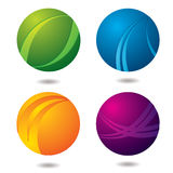 Citrus Buttons stock illustration