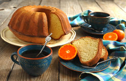 Citrus cake Royalty Free Stock Image