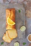 Citrus cake Royalty Free Stock Photo