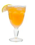 Citrus cocktail  closeup Royalty Free Stock Images