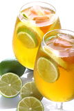 Citrus cocktail with lime Royalty Free Stock Photo