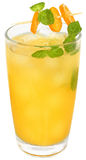 Citrus cocktail with orange juice and slice kumquat Royalty Free Stock Photography