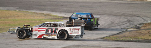 Citrus County Speedway Royalty Free Stock Image