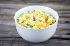 Citrus couscous salad Royalty Free Stock Photography