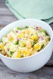 Citrus couscous salad Royalty Free Stock Images